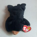 Ty Beanie Baby Blackie the bear Tagged 1994